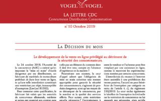 Vogel & Vogel • CDC n10 2019