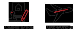 Vogel & Vogel • Nos compétences • administration • aéronautique