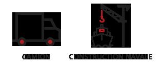 Vogel & Vogel • Nos compétences • construction navale • camion