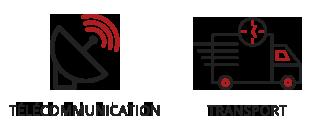 Vogel & Vogel • Nos compétences • télécommunication • transport