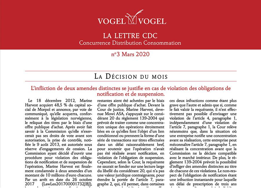 Vogel & Vogel • CDC n3 2020
