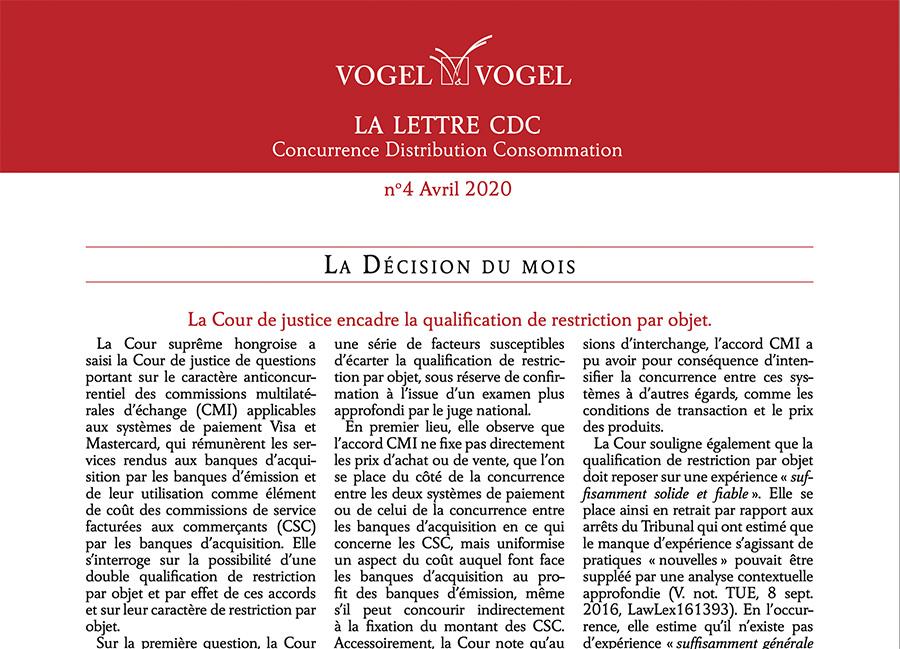 Vogel & Vogel • CDC n4 2020