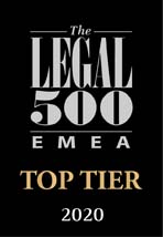 Legal 500 top tier