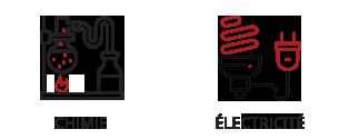 Vogel & Vogel • Nos compétences • chimie • electricité