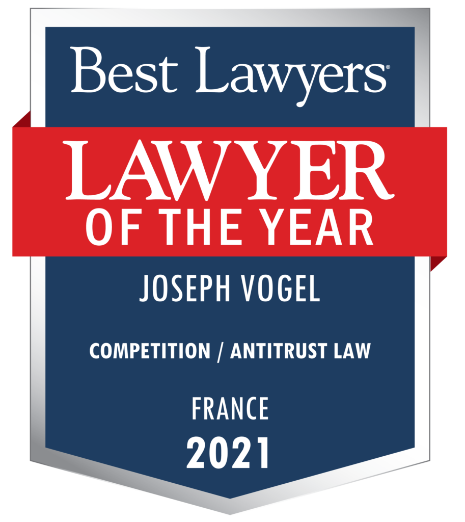 Lawyer of the year Joseph Vogel Competition Antitrust Law