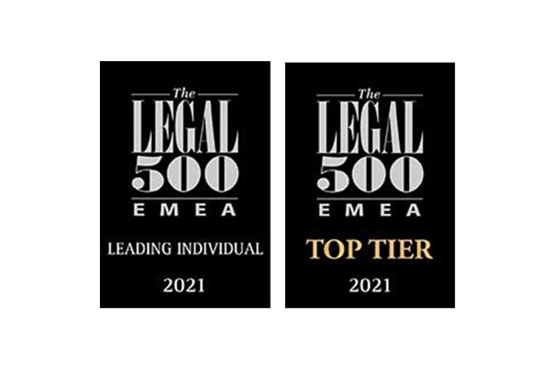 Legal 500 2021 • Vogel&Vogel